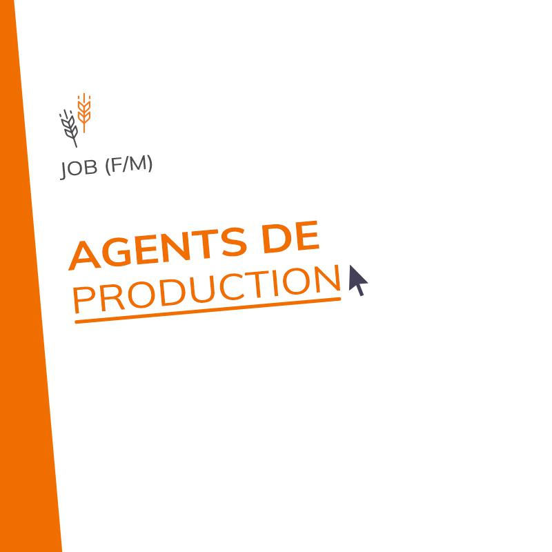 Agents de production (m/f)